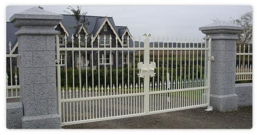 Granite Gate Posts