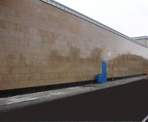 Lidl Tallaght - Granite cladding