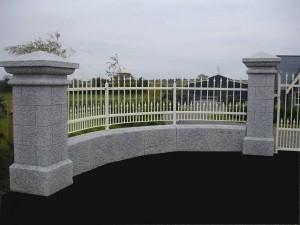 Granite Pillars and walls