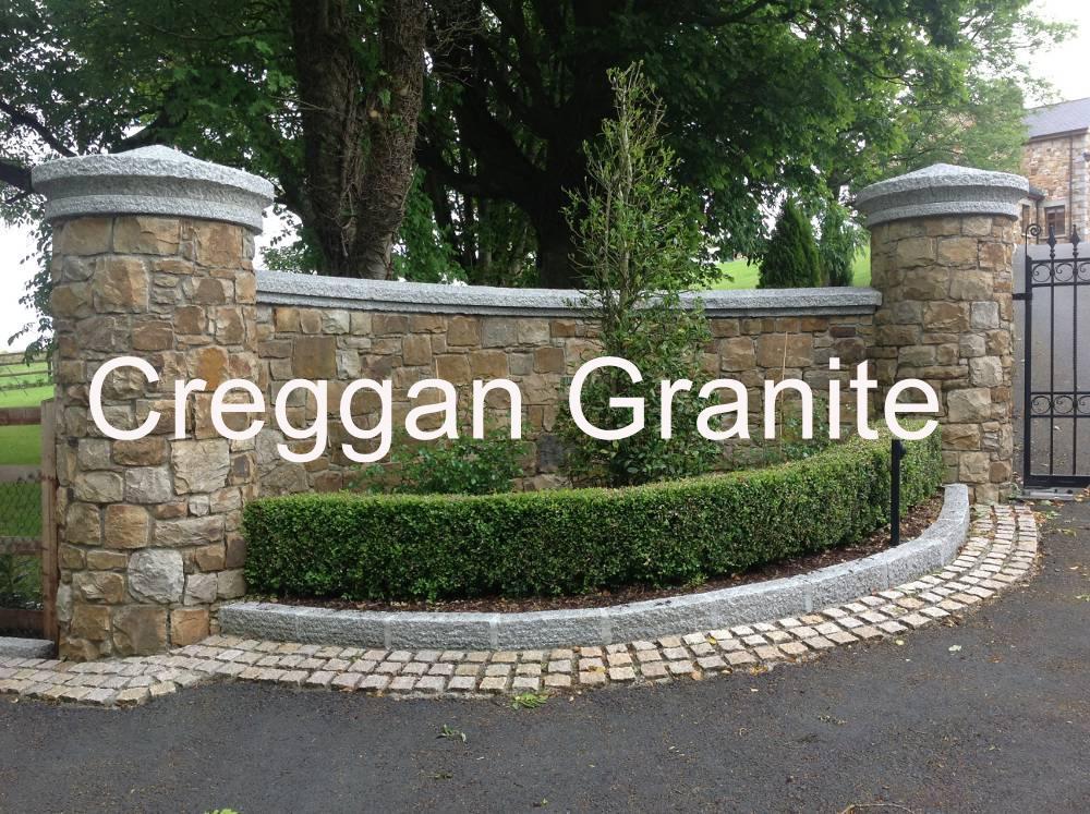 Wall Coping Pier Caps Creggan Granite Ireland
